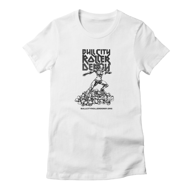 Bull City- HEAVY METAL Women's T-Shirt by Bull City Roller Derby Shop