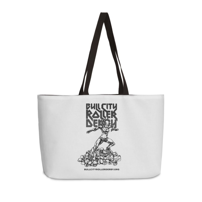 Bull City- HEAVY METAL Accessories Weekender Bag Bag by Bull City Roller Derby Shop