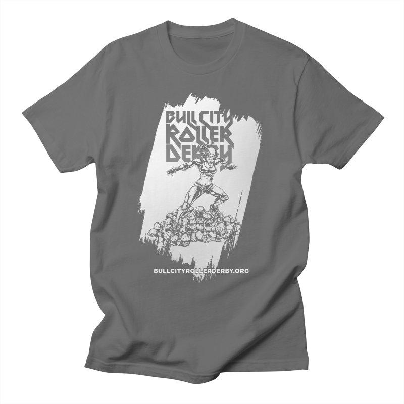 Bull City- HEAVY METAL Reverse Women's T-Shirt by Bull City Roller Derby Shop