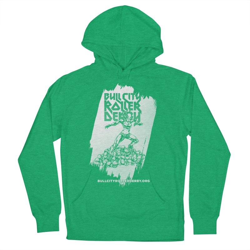 Bull City- HEAVY METAL Reverse Men's Pullover Hoody by nonnahsonic's Artist Shop