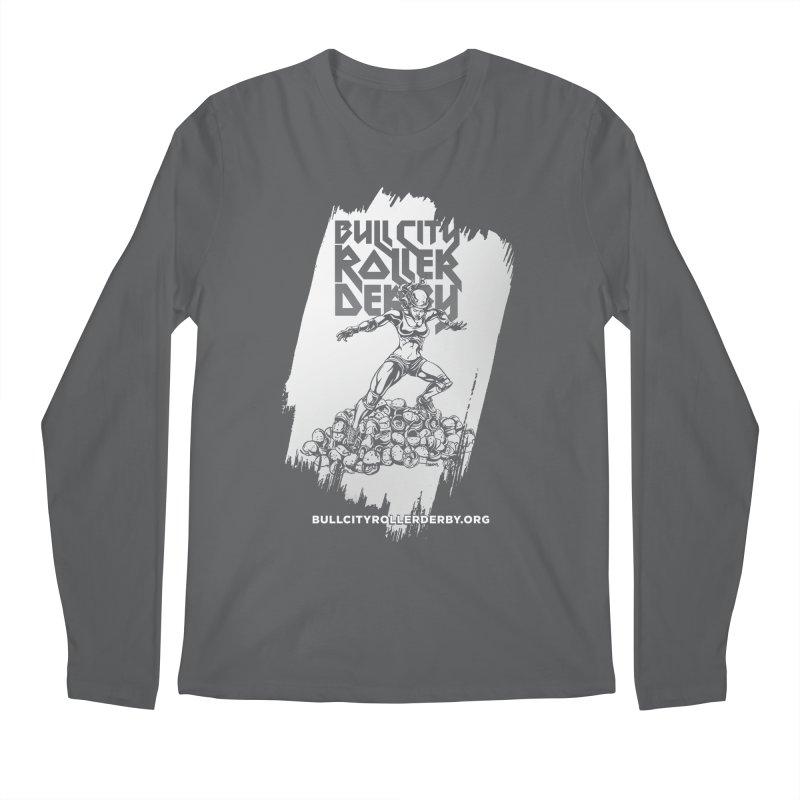 Bull City- HEAVY METAL Reverse Men's Longsleeve T-Shirt by nonnahsonic's Artist Shop