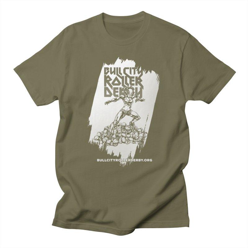 Bull City- HEAVY METAL Reverse Men's T-shirt by nonnahsonic's Artist Shop