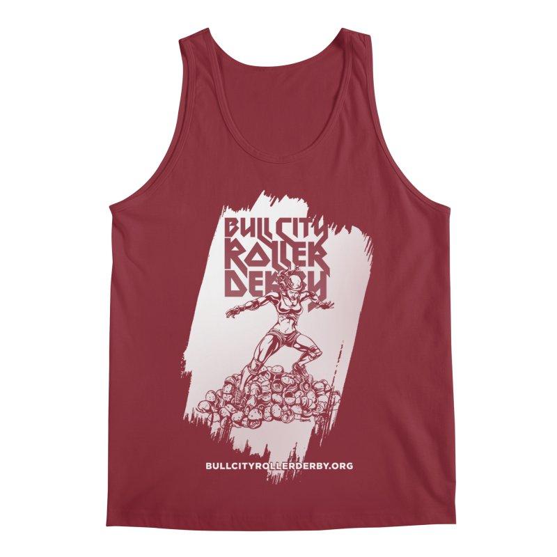 Bull City- HEAVY METAL Reverse Men's Regular Tank by Bull City Roller Derby Shop