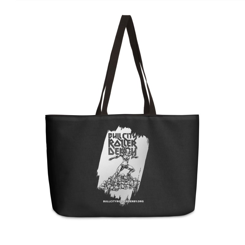 Bull City- HEAVY METAL Reverse Accessories Weekender Bag Bag by Bull City Roller Derby Shop