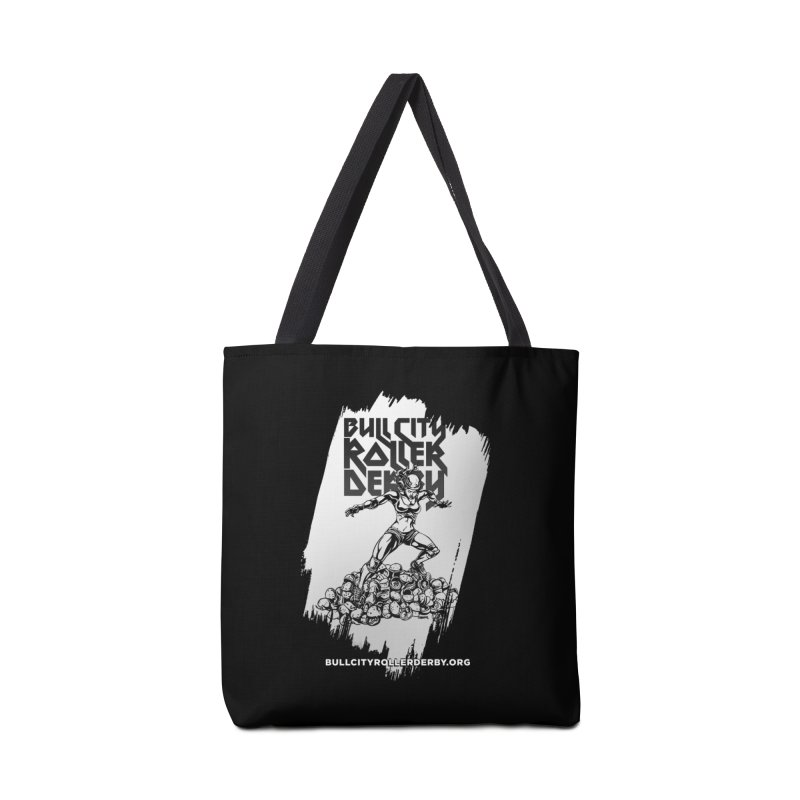 Bull City- HEAVY METAL Reverse Accessories Bag by Bull City Roller Derby Shop