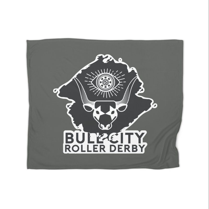 BCRD Remix! Home Fleece Blanket Blanket by Bull City Roller Derby Shop