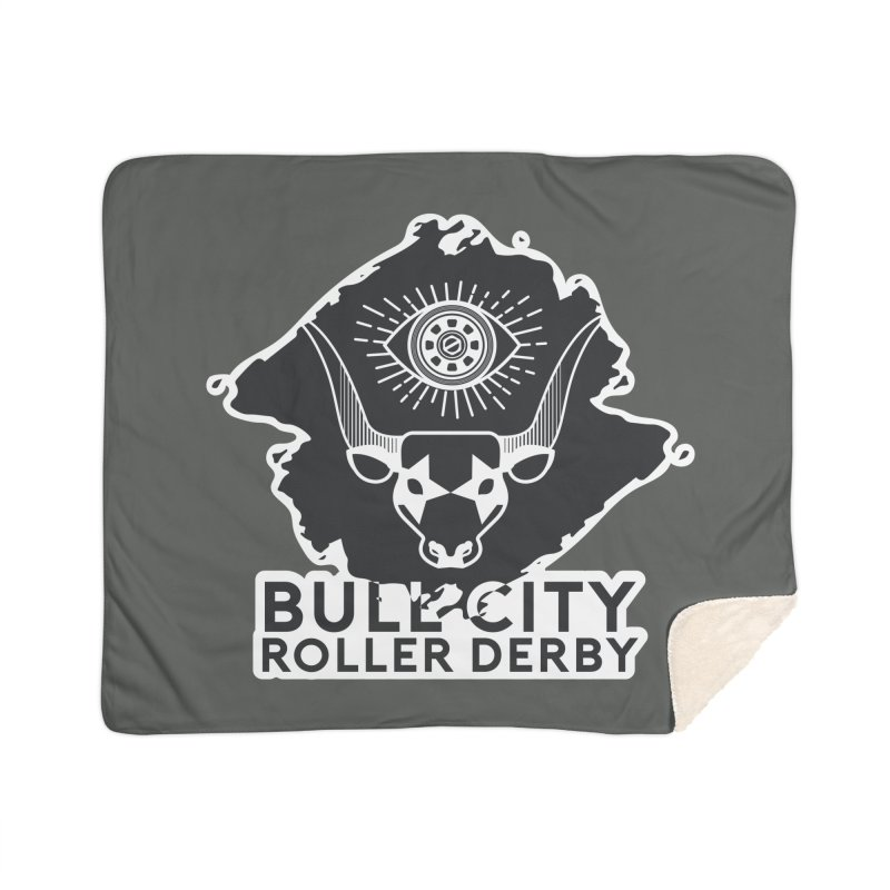 BCRD Remix! Home Blanket by Bull City Roller Derby Shop