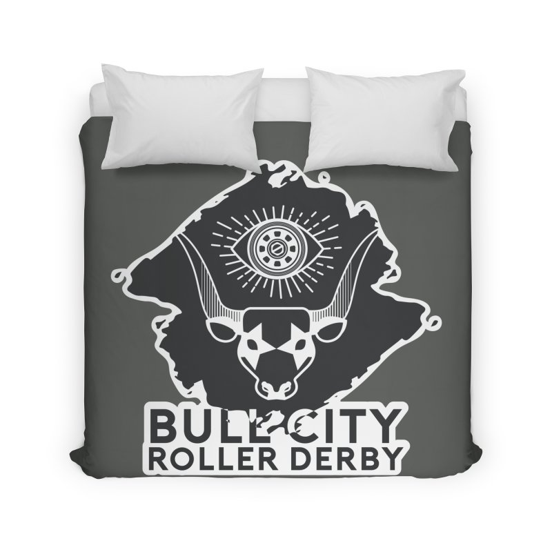 BCRD Remix! Home Duvet by Bull City Roller Derby Shop
