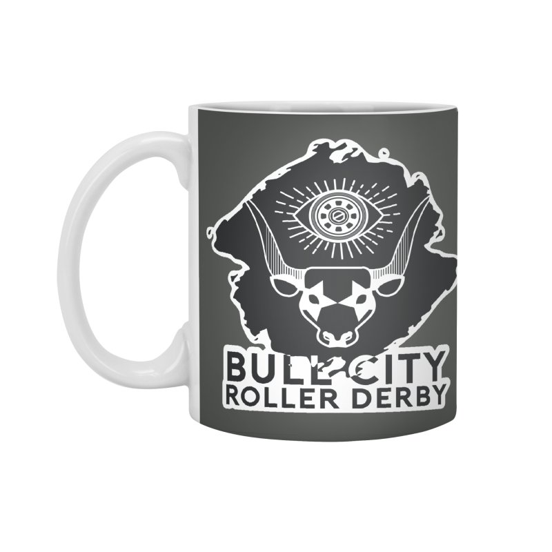 BCRD Remix! Accessories Mug by Bull City Roller Derby Shop