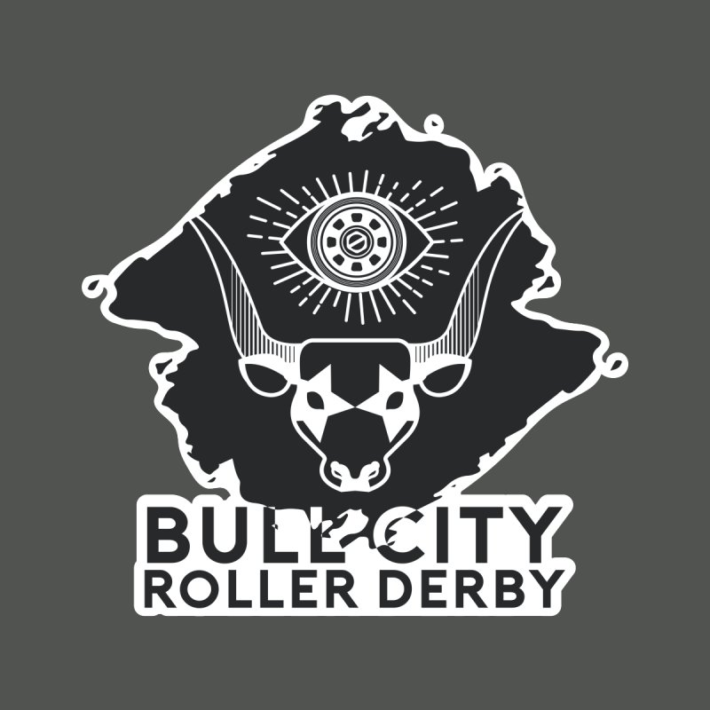 BCRD Remix! Home Fine Art Print by Bull City Roller Derby Shop