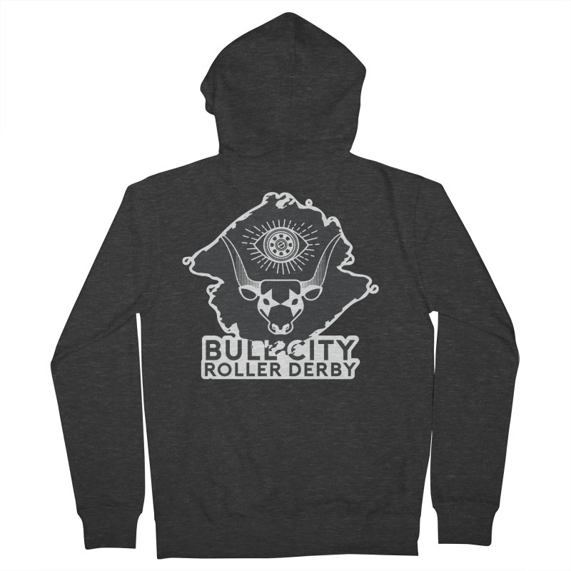 BCRD Remix! Women's French Terry Zip-Up Hoody by Bull City Roller Derby Shop