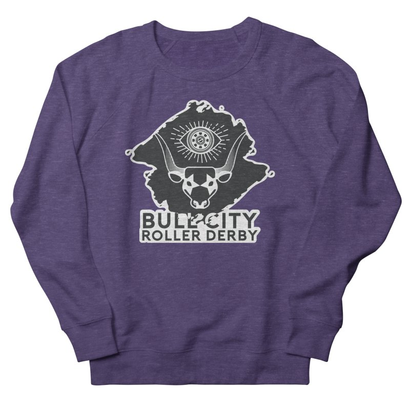 BCRD Remix! Men's French Terry Sweatshirt by Bull City Roller Derby Shop