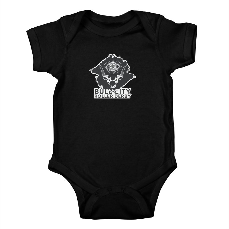 BCRD Remix! Kids Baby Bodysuit by Bull City Roller Derby Shop