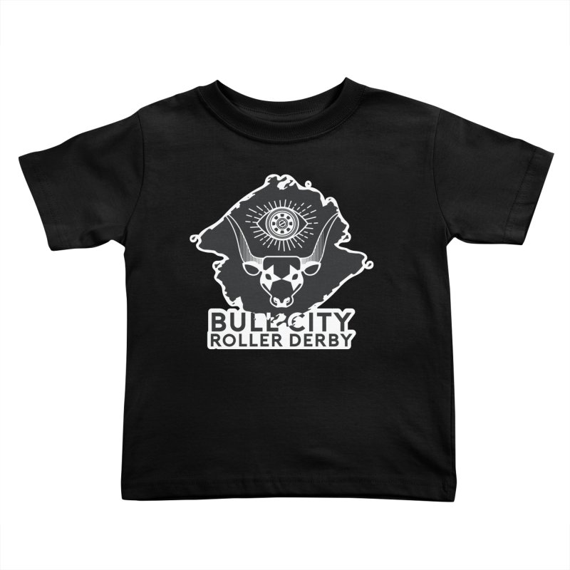 BCRD Remix! Kids Toddler T-Shirt by Bull City Roller Derby Shop