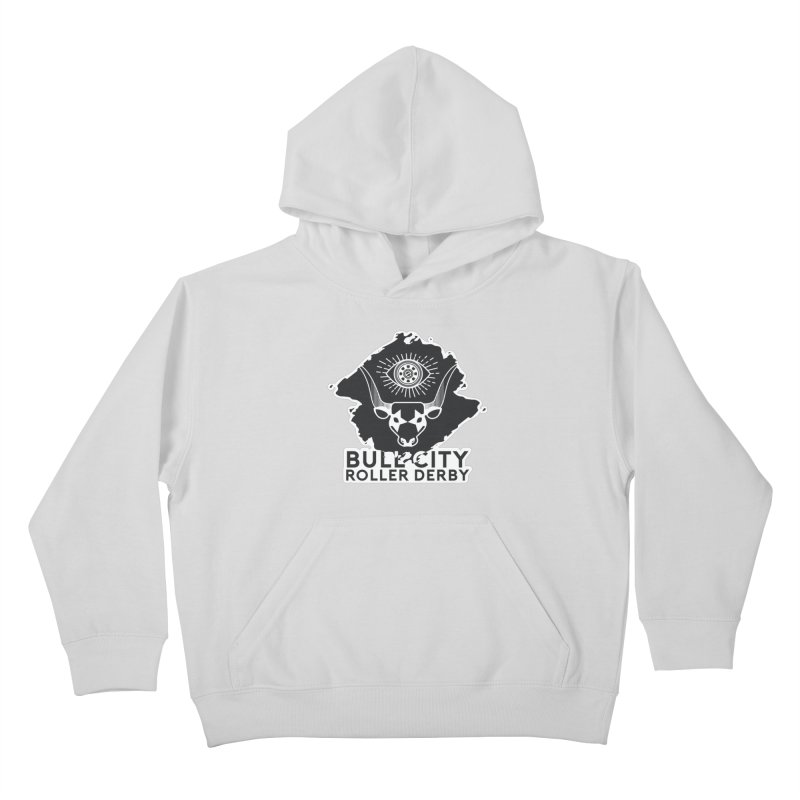 BCRD Remix! Kids Pullover Hoody by Bull City Roller Derby Shop