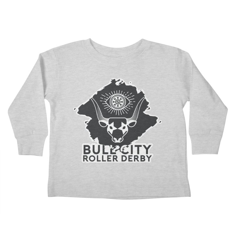 BCRD Remix! Kids Toddler Longsleeve T-Shirt by Bull City Roller Derby Shop
