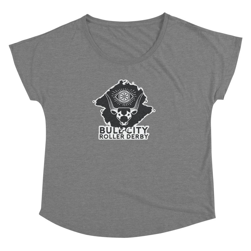 BCRD Remix! Women's Scoop Neck by Bull City Roller Derby Shop
