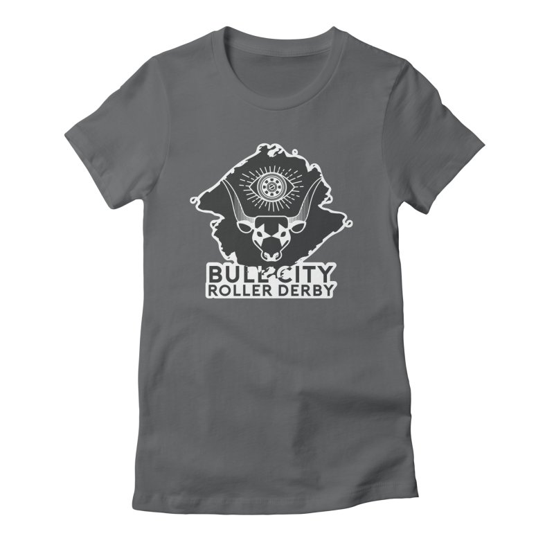 BCRD Remix! Women's Fitted T-Shirt by Bull City Roller Derby Shop