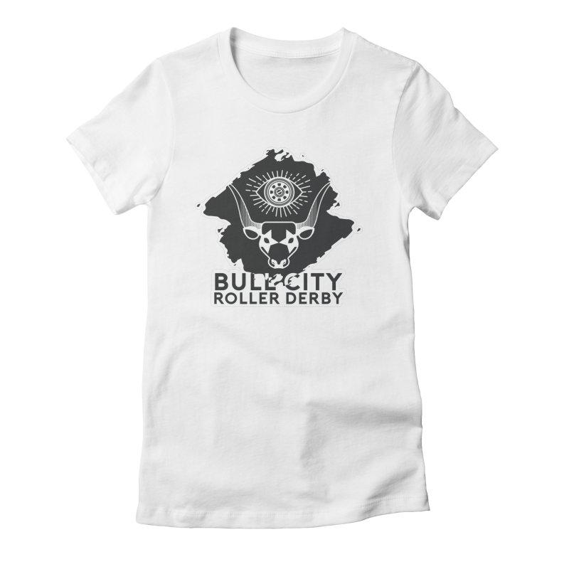 BCRD Remix! Women's T-Shirt by Bull City Roller Derby Shop