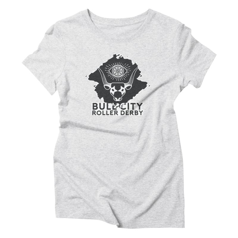 BCRD Remix! Women's Triblend T-Shirt by Bull City Roller Derby Shop