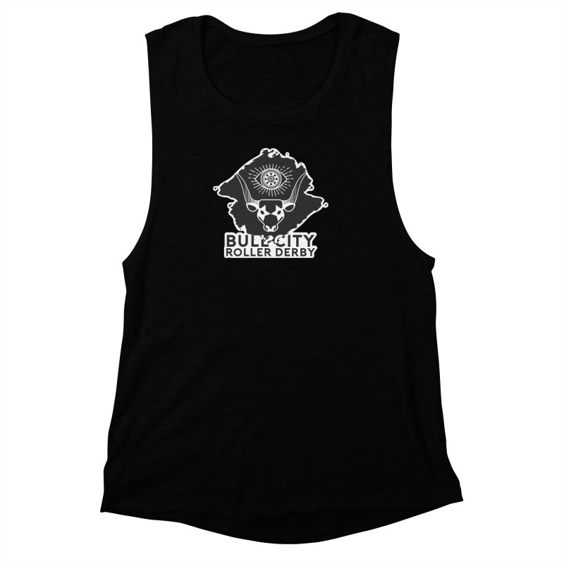 BCRD Remix! Women's Muscle Tank by Bull City Roller Derby Shop