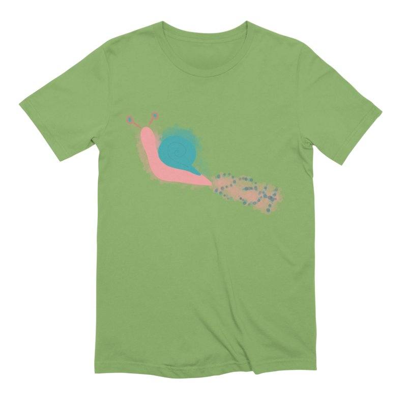 Snail 2 3 4 Men's Extra Soft T-Shirt by Noodle Loaf - An Interactive Music Themed Podcast