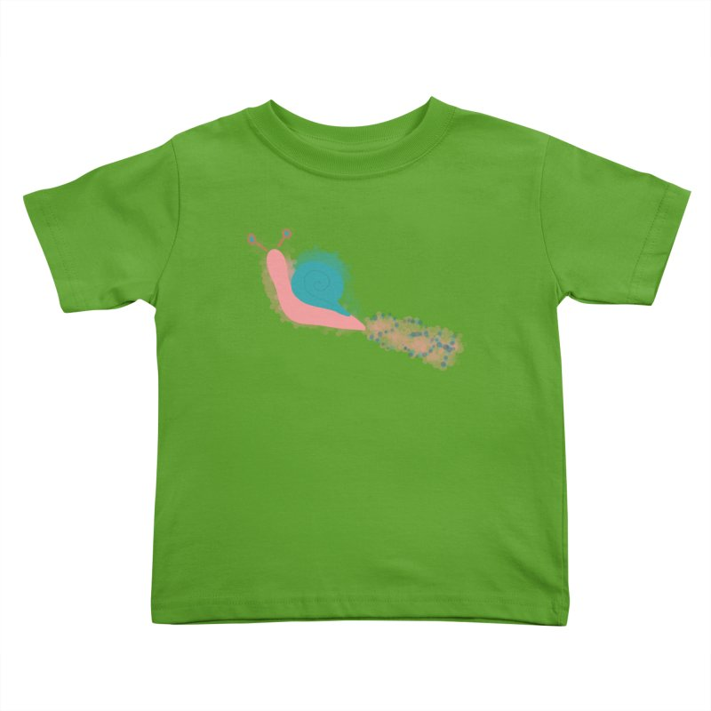 Snail 2 3 4 in Kids Toddler T-Shirt Apple by Noodle Loaf - An Interactive Music Themed Podcast