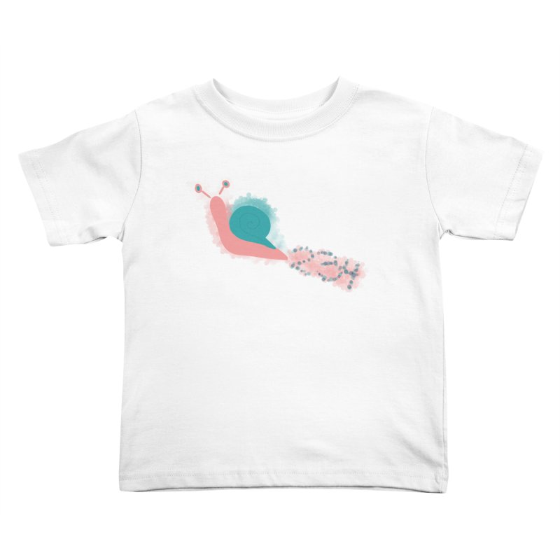 Snail 2 3 4 Kids Toddler T-Shirt by Noodle Loaf - An Interactive Music Themed Podcast