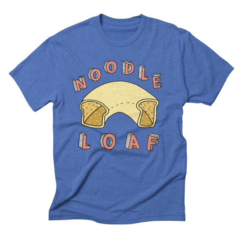 Noodle Loaf Logo Men's Triblend T-Shirt by Noodle Loaf - An Interactive Music Themed Podcast