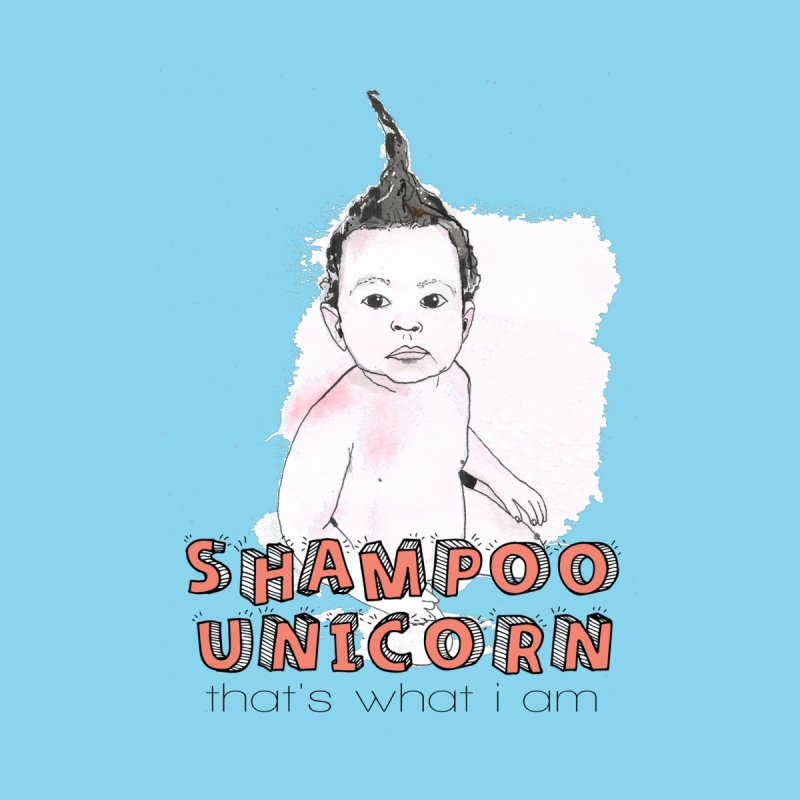 Shampoo Unicorn Kids T-Shirt by Noodle Loaf - An Interactive Music Themed Podcast