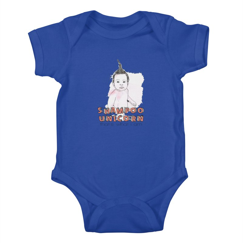 Shampoo Unicorn Kids Baby Bodysuit by Noodle Loaf - An Interactive Music Themed Podcast
