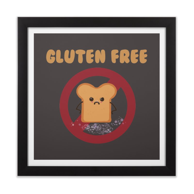 Gluten freelings Home Framed Fine Art Print by noomi's Artist Shop