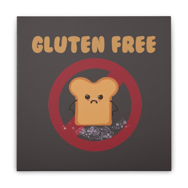 Gluten freelings Home Stretched Canvas by noomi's Artist Shop