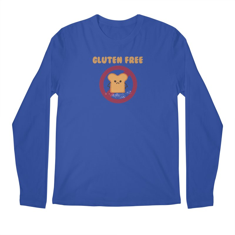 Gluten freelings Men's Longsleeve T-Shirt by noomi's Artist Shop