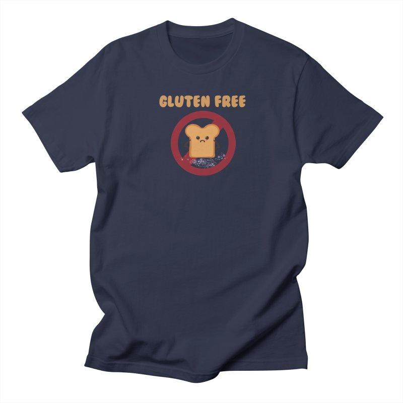 Gluten freelings Men's T-Shirt by noomi's Artist Shop