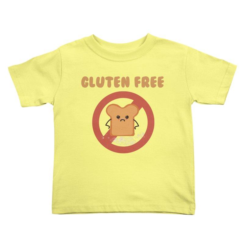 Gluten freelings Kids Toddler T-Shirt by noomi's Artist Shop