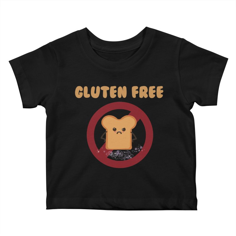 Gluten freelings Kids Baby T-Shirt by noomi's Artist Shop