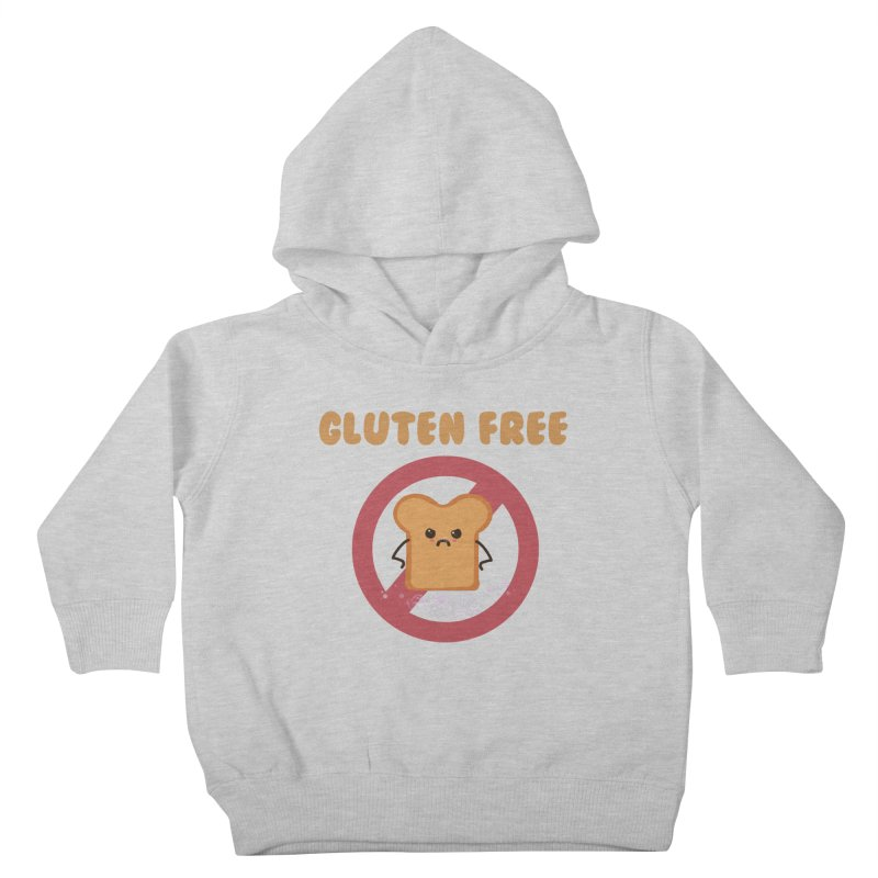 Gluten freelings Kids Toddler Pullover Hoody by noomi's Artist Shop