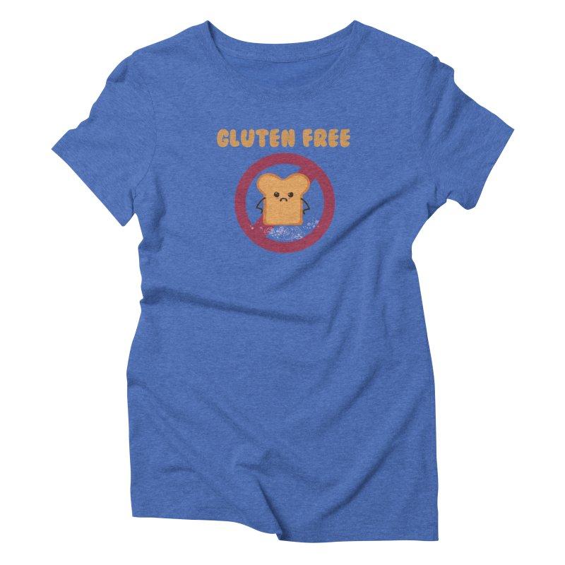 Gluten freelings Women's Triblend T-Shirt by noomi's Artist Shop