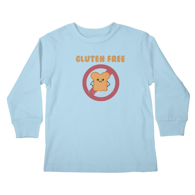 Gluten freelings Kids Longsleeve T-Shirt by noomi's Artist Shop