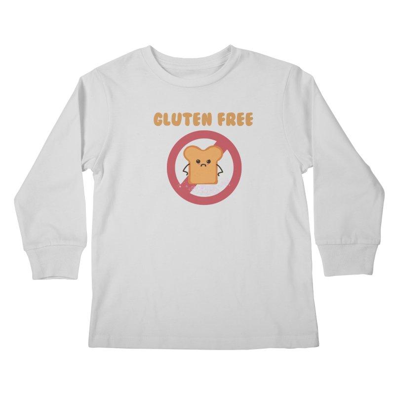 Gluten freelings Kids Longsleeve T-Shirt by noomi's Artist Shop