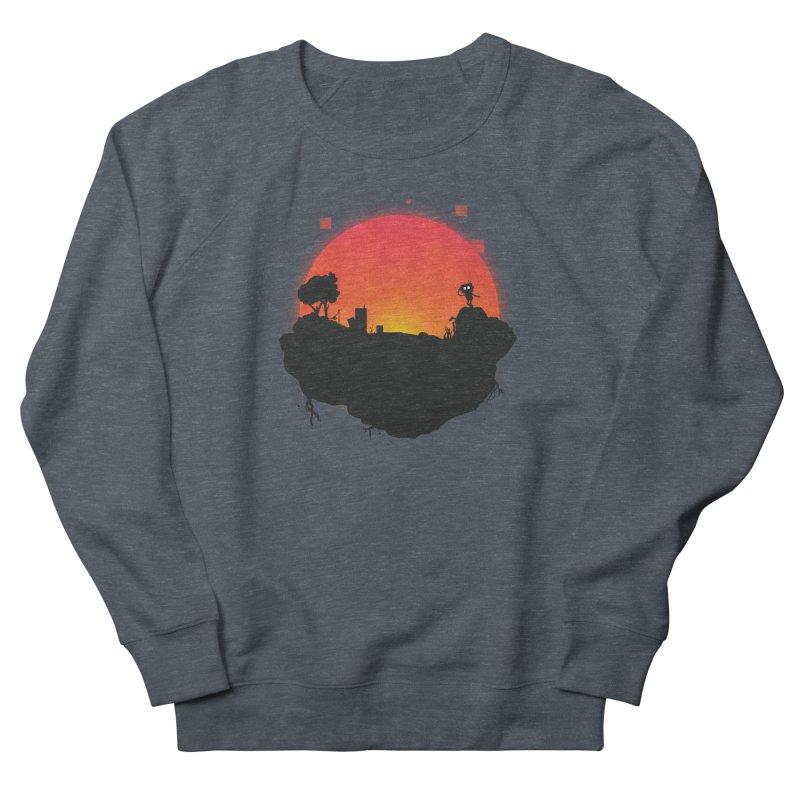 Sunrise of robot island Women's Sweatshirt by noomi's Artist Shop