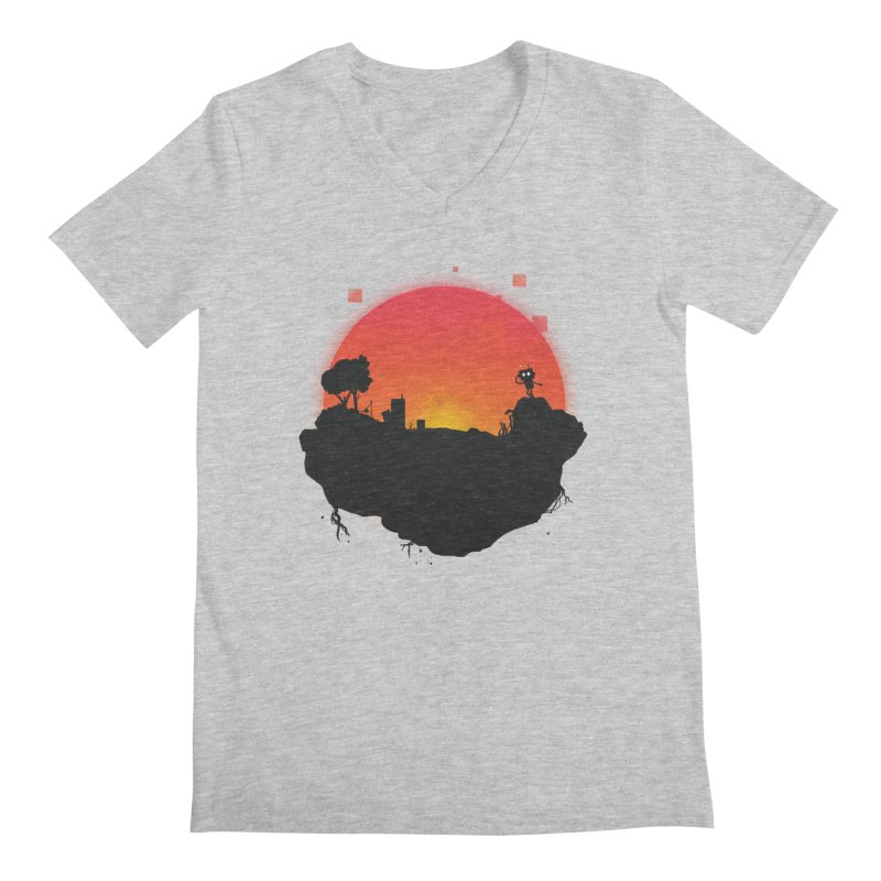 Sunrise of robot island   by noomi's Artist Shop