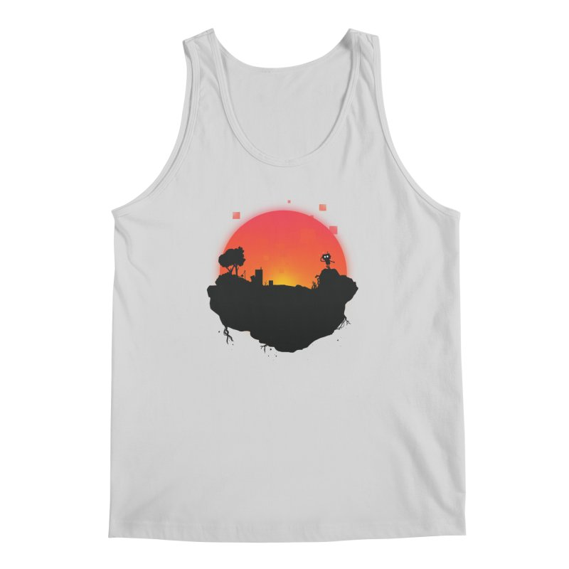Sunrise of robot island Men's Tank by noomi's Artist Shop