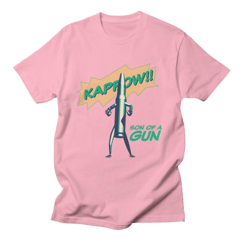 Son of a Gun Men's T-Shirt by normalflipped store