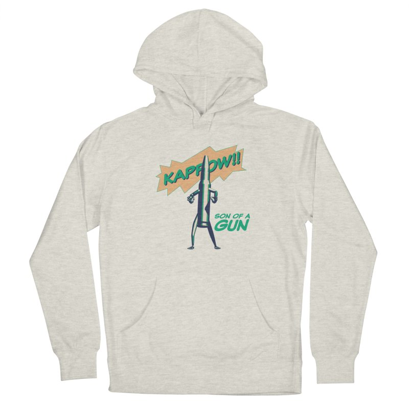 Son of a Gun Men's Pullover Hoody by normalflipped store