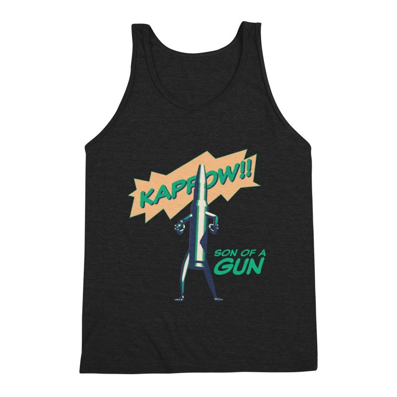 Son of a Gun Men's Tank by normalflipped store