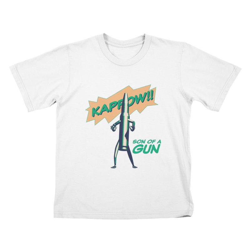 Son of a Gun Kids T-Shirt by normalflipped store