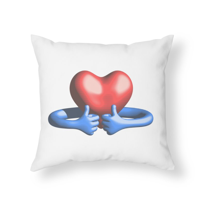 Like me! Love me! Home Throw Pillow by normalflipped store