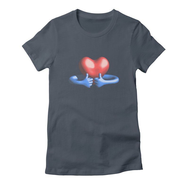 Like me! Love me! Women's T-Shirt by normalflipped store